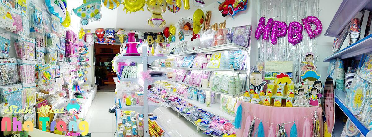 Cửa hàng phụ kiện trang trí thôi nôi sinh nhật Nha Trang