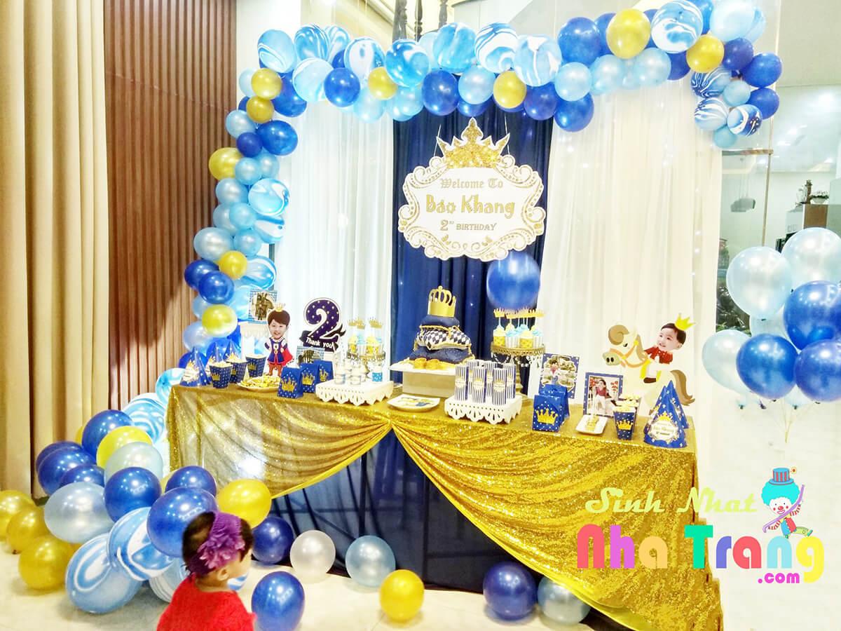 phụ kiện Trang trí tiệc thôi nôi sinh nhật Nha Trang