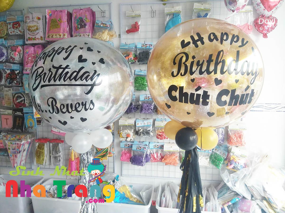 bong bóng sinh nhật nha trang