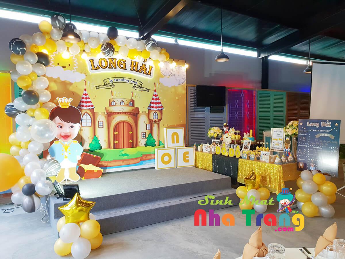 Đồ trang trí tiệc thôi nôi Nha Trang