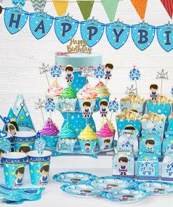 set phụ kiện trang trí sinh nhật cho bé trai tại nha trang