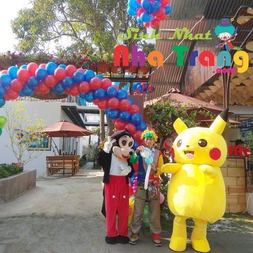 dịch vụ cho thuê mascot đón khách tại Nha Trang