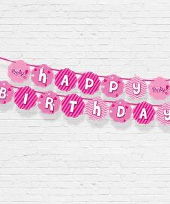 chữ happy birthday giấy trang trí sinh nhật thôi nôi nha trang