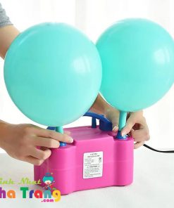 máy bơm bong bóng điện nha trang