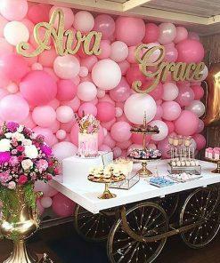 backdrop bong bóng sinh nhật