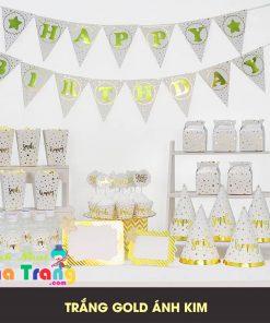 set phụ kiện trang trí sinh nhật sang trọng tại nha trang