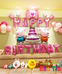 set bóng trang trí sinh nhật tại nha trang