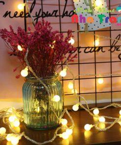 dây đèn led Đèn led Cherry Ball trang trí ở nha trang